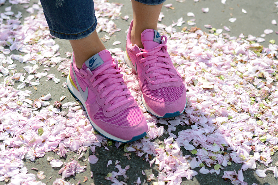 Nike Internationalist in Pink  (2)