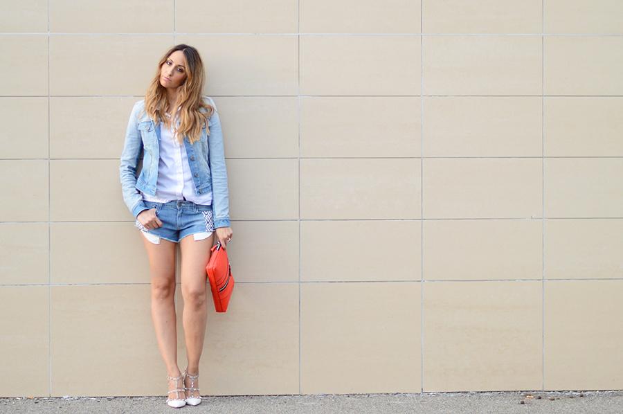 Paige Denim Shorts (1)
