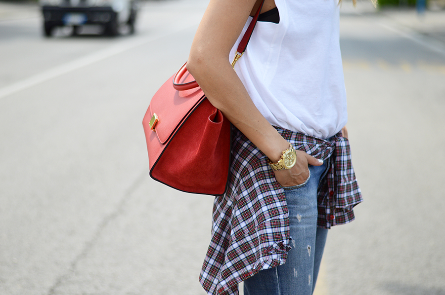 Celine Trapeze Bag (2)