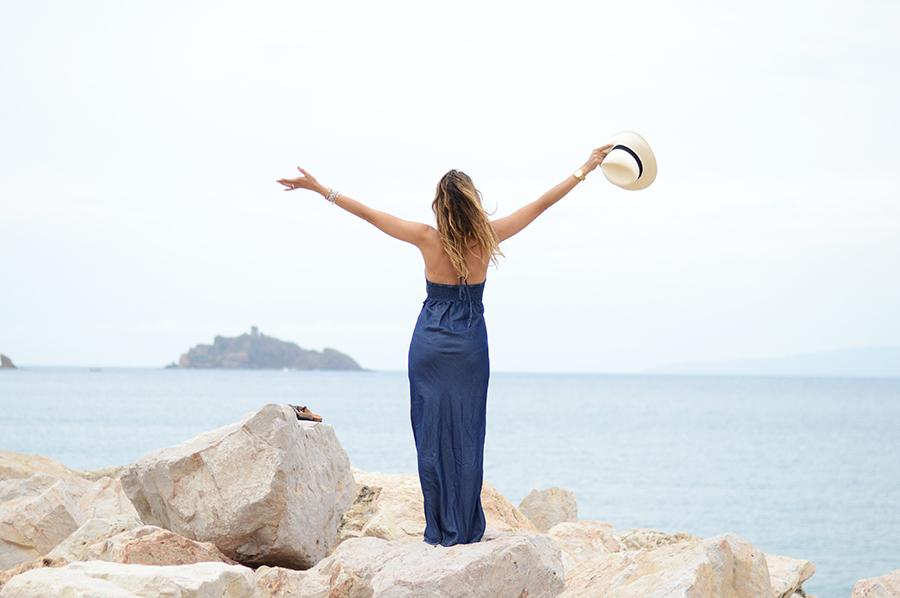 Denim Long Dress (1)