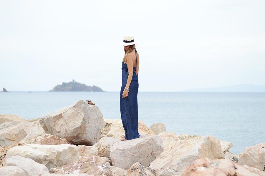 Denim Long Dress (5)