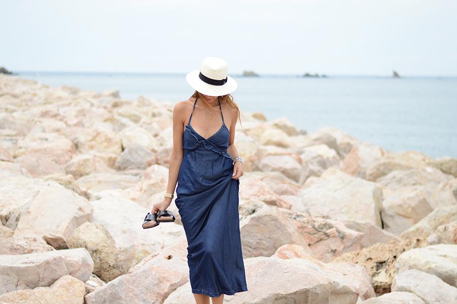 Long Denim Dress (2)