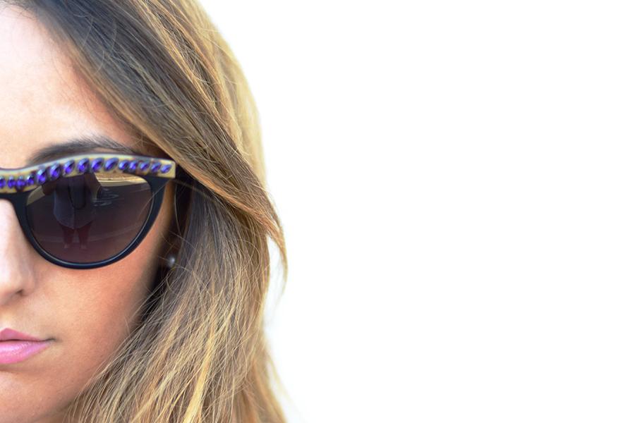 "Occhiali Prada, ""Le Gemme"" Sunglasses, Prada Portrait"