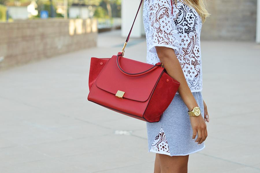 Celine Red Bag