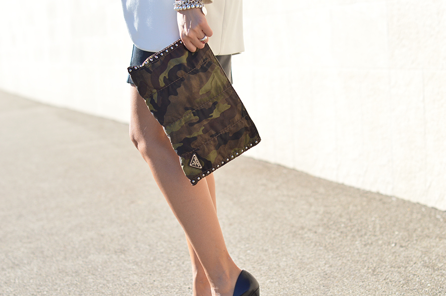 Prada Bag -Camouflage - Pochette Prada