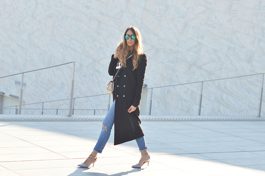 long coat woman