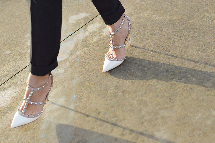 rockstud shoes