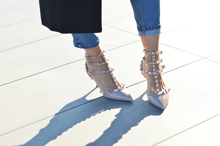 valentino shoes rockstud