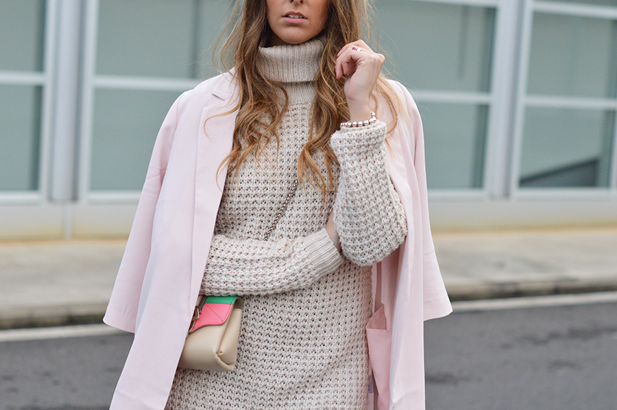 how-to-wear-pink-jacket