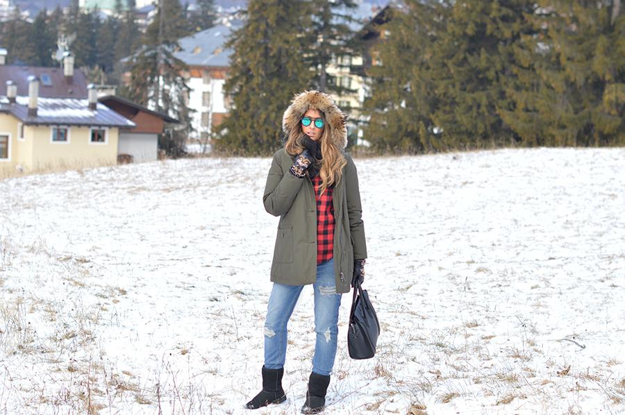 woolrich montagna