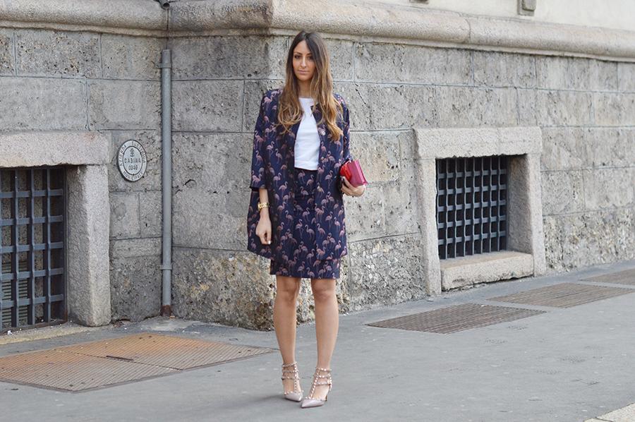giuliette-brown-flamingo-collection-milan fashion week-streetstyle