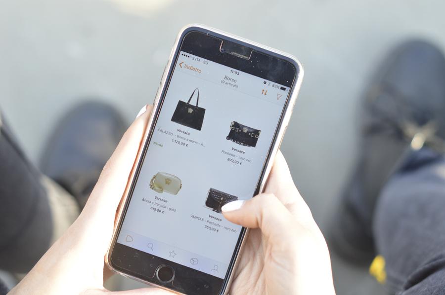 Zalando-Shopping-Borse-Versace-Applicazione-Mobile-iPhone-Elisa-Taviti