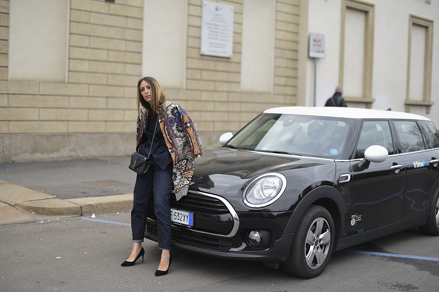 MILANO FASHION WEEK with DRIVENOW